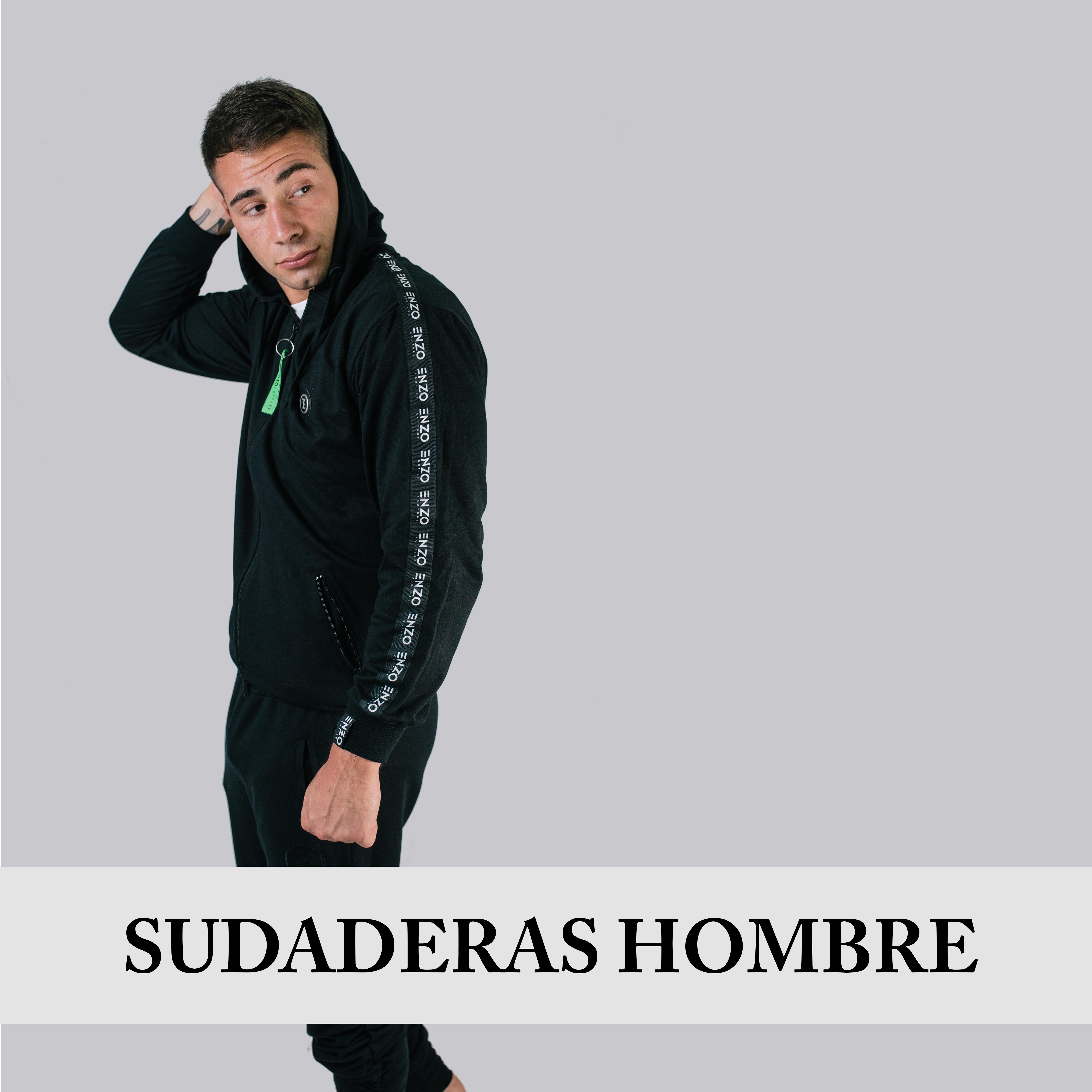 SUDADERAS HOMBRE