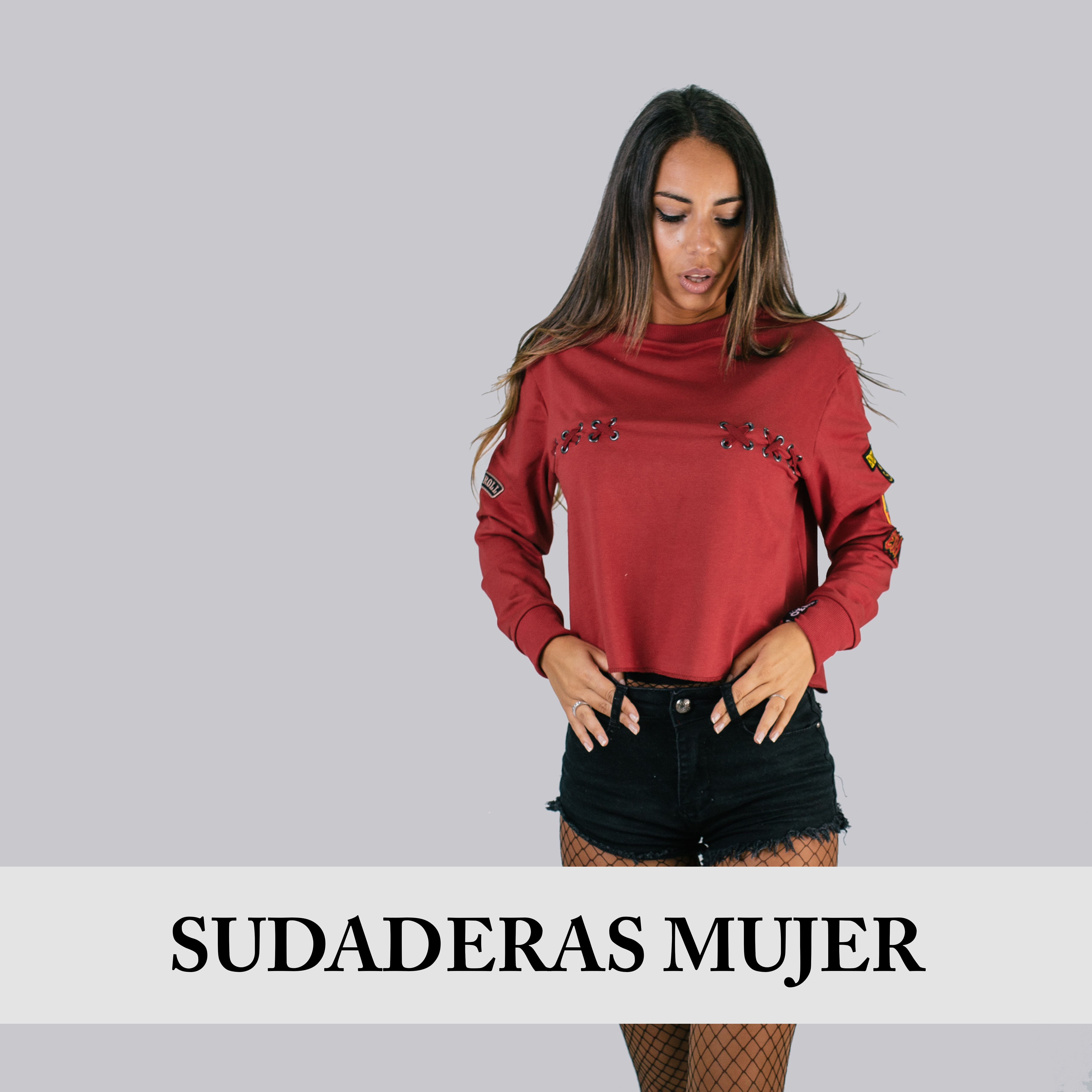 SUDADERAS MUJER